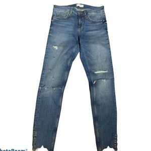 Zara Premium Denim Collection Women's Jeans Sz 4